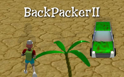 Backpacker II, flash game