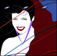 Patrick Nagel, Album Cover for Duran Duran 1982