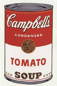 Andy Warhol, Campbells Soup Cans 1968